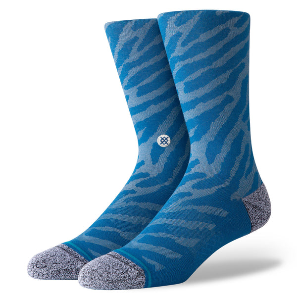 Mens Eldrick Blue Stance Sock