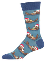 Mens Otterly Merry Sock