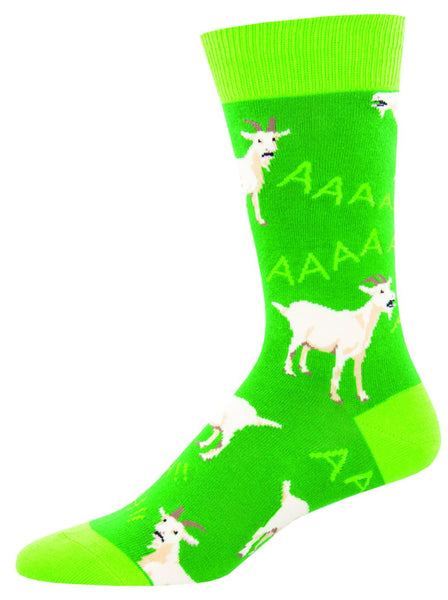 Billy Goat Socks Animals, Noisy, Loud,Farm, Wild, Herds