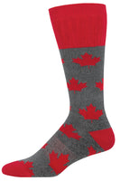 Mens Canadian Maple Boot Sock