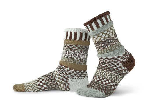 Unisex Pine Cone Recycled Cotton Sock