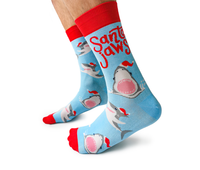 Mens Santa Jaws Sock