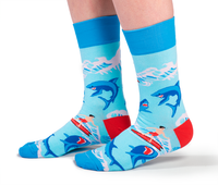 Mens Shark Bite Sock