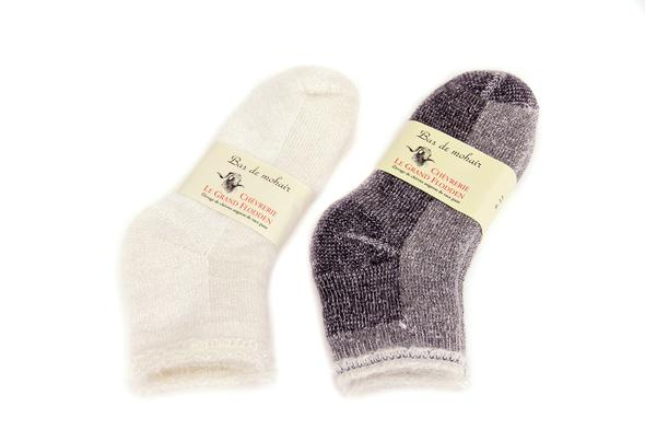Thermal Mohair Ankle
