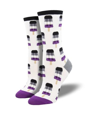 Ladies Asexual Pops Sock