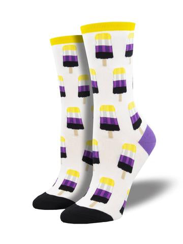 Ladies Non-Binary Pops Sock