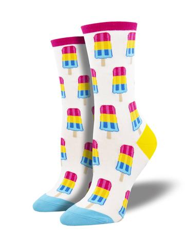 Ladies Pansexual Pops Sock