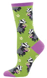 Ladies Bashful Badger Sock