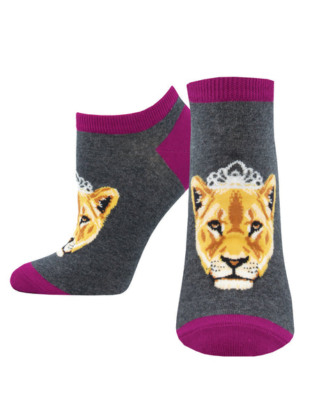 Ladies Queen of the Pride Ankle Sock