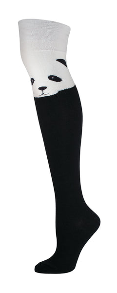 Ladies Panda Over The Knee Sock
