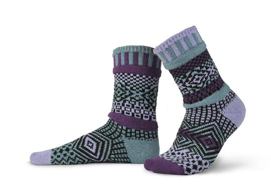 Unisex Wisteria Recycled Cotton Sock