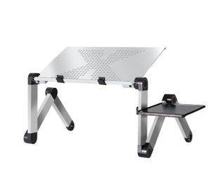 Laptop Desk Foldable Bed Standing Desk Aluminum Alloy