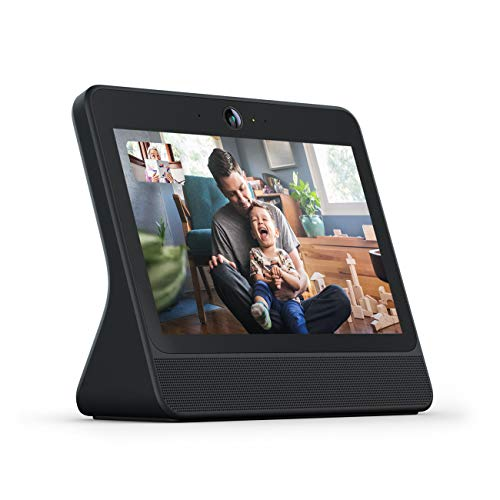 Facebook Portal Black - Alexa Built-in, 10