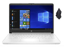 Load image into Gallery viewer, NEW 2021 HP 14-inch Laptop, Intel 2-Core N4020 up to 2.8 GHz, 4 GB RAM, 64 GB eMMC, WiFi, Webcam, Bluetooth, Windows 10 S with Office 365 Personal for 1 Year + Oydisen Cloth