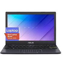 "Load image into Gallery viewer, ASUS Laptop L210 Ultra Thin Laptop, 11.6"" HD Display, Intel Celeron N4020 Processor, 4GB RAM, 64GB Storage, NumberPad, Windows 10 Home in S Mode with One Year of Microsoft 365 Personal, L210MA-DB01"