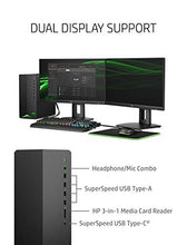 Load image into Gallery viewer, HP Pavilion Gaming Desktop, NVIDIA GeForce GTX 1650, Intel Core i5-10400F, 8 GB DDR4 RAM, 256 GB PCIe NVMe SSD, Windows 10 Home, USB Mouse and Keyboard, Compact Tower Design (TG01-1020, 2020)
