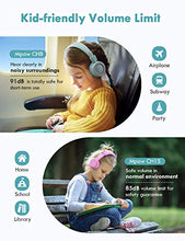 Load image into Gallery viewer, Mpow CH8 Kids Headphones with Microphone (2-Pack), Wired On-Ear Headsets with Safe Volume Limited 91dB, Foldable Durable Earphones w/Audio Splitter for Boys/Girls/Toddlers/Children/School/Travel/Plane