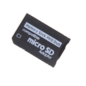 JETTING Support Memory Card Adapter Micro SD To Memory Stick Adapter For PSP Micro SD 1MB-128GB Memory Stick Pro Duo