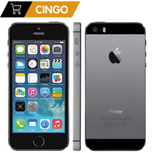 "Load image into Gallery viewer, iPhone 5s Factory Unlocked Apple iPhone 5s 16GB 32GB 64GB ROM 8MP iOS  4.0""IPS 8MP WIFI GPS SIRI 4G LTE Mobile Phone"