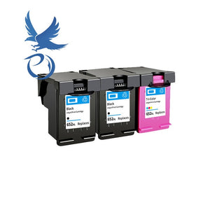 PY 652XL ink cartridge replacement for HP 652 XL for HP Deskjet 1115 1118 2135 2136 2138 3635 3636 3835 4535