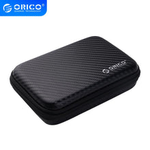 Load image into Gallery viewer, ORICO 2.5 Hard Disk Case Portable HDD Protection Bag for External 2.5 inch Hard Drive/Earphone/U Disk Hard Disk Drive Case Black