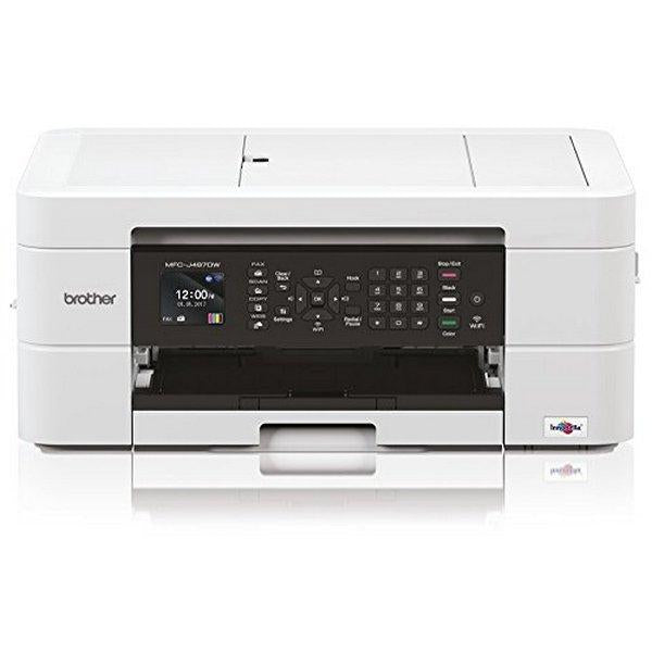 Multifunction Printer Brother MFCJ497DWZX1 WIFI 128 MB White
