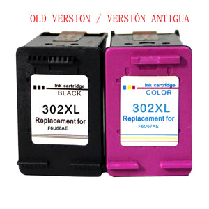 Remanufactured HP 302 XL ink cartridges for HP OfficeJet 3831 3833 DeskJet 1110 2130 3630 3639 3633 3636 Envy 4520 4524