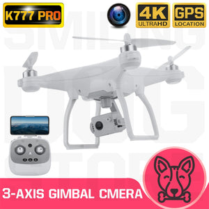 K777 Pro Drone 4K GPS 3-Axis Gimbal HD Camera 5G WIFI Brushless Motor Drones Dron Professional 22Min Flight RC Quadcopter VS X35