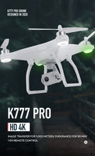 Load image into Gallery viewer, K777 Pro Drone 4K GPS 3-Axis Gimbal HD Camera 5G WIFI Brushless Motor Drones Dron Professional 22Min Flight RC Quadcopter VS X35