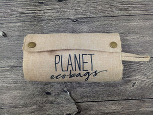 Planet Fold-up Shopper - Hemp