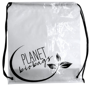 Planet Bio Bag Drawstring Back Pack