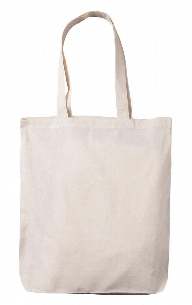 Planet Tote Bag - Natural Cotton Calico