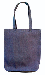 Planet Tote Bag - Blue Denim