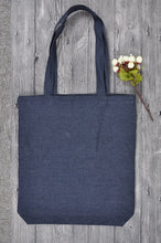 Load image into Gallery viewer, Planet Tote Bag - Blue Denim