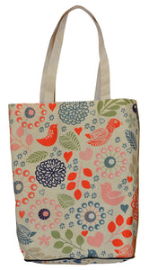 Planet Fold-up Shopper - Sublimated Cotton