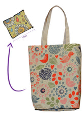 Load image into Gallery viewer, Planet Fold-up Shopper - Sublimated Cotton