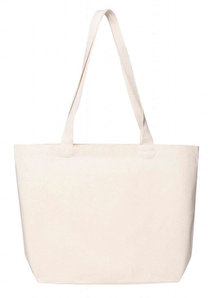 Planet Market Bag - Natural Heavy Canvas