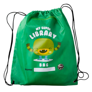 Planet Drawstring Backpack - Polyester
