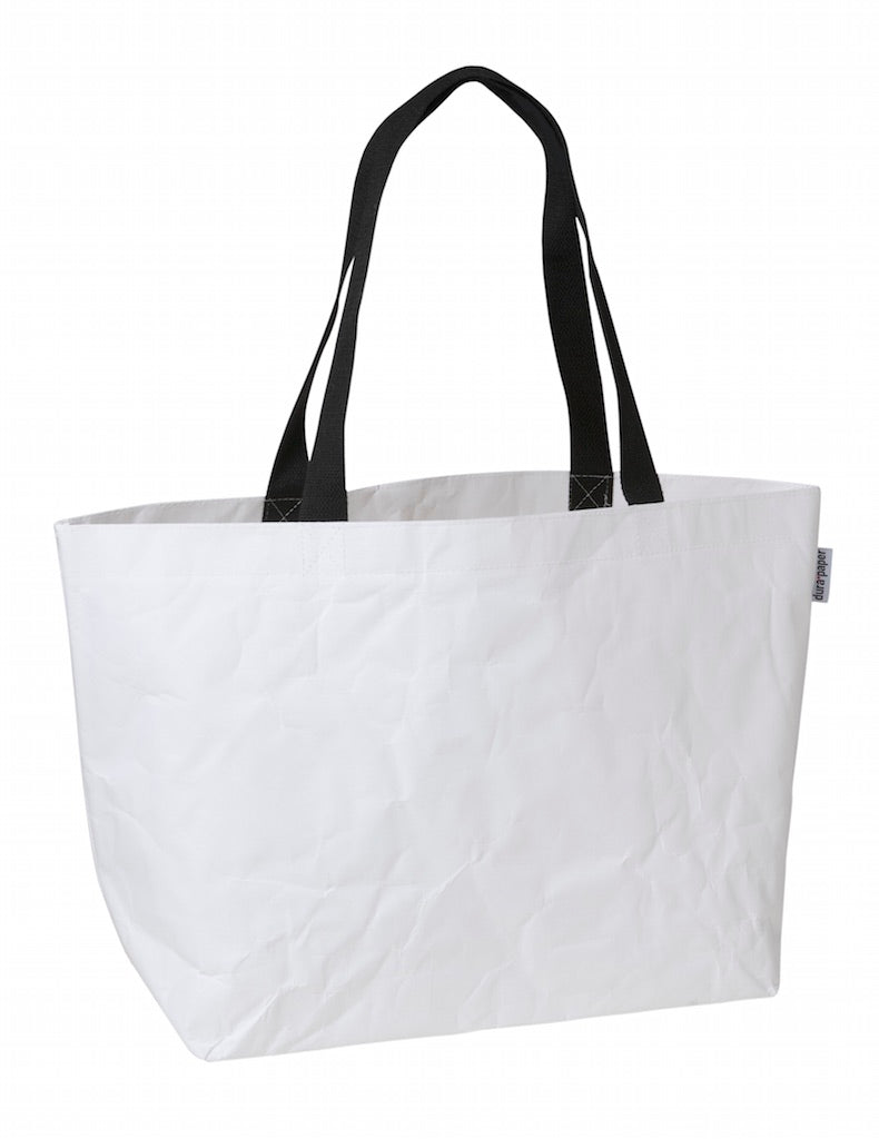 Planet Mega Market Bag - White DuraPaper
