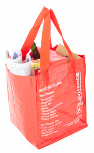 Planet Recycling Bag - Laminated Woven Polypropylene