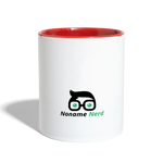 Intellectual Badass Coffee Mug - white/red