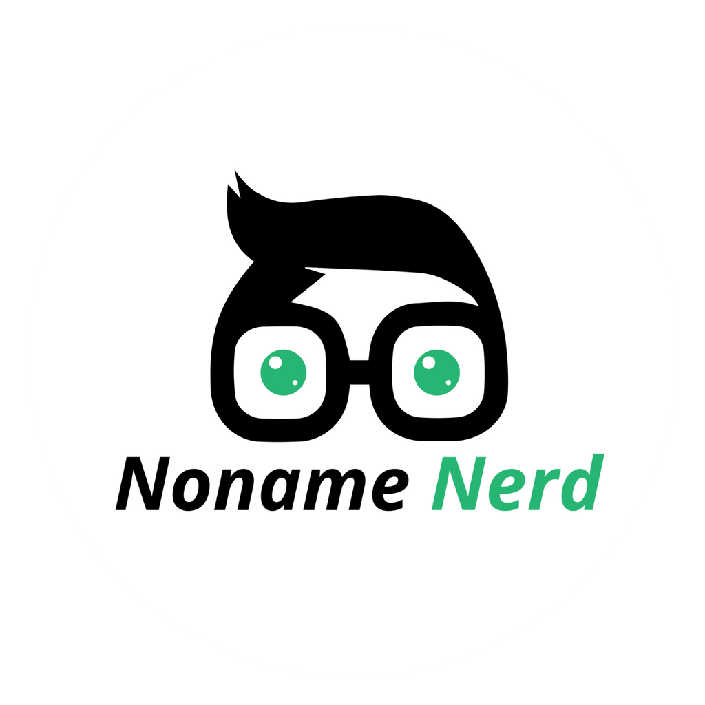 Waterproof Vinyl Noname Nerd Stickers