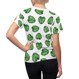 Monstera Women's Fitted Shirt