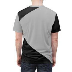 Custom Black/Gray Gamer Jersey