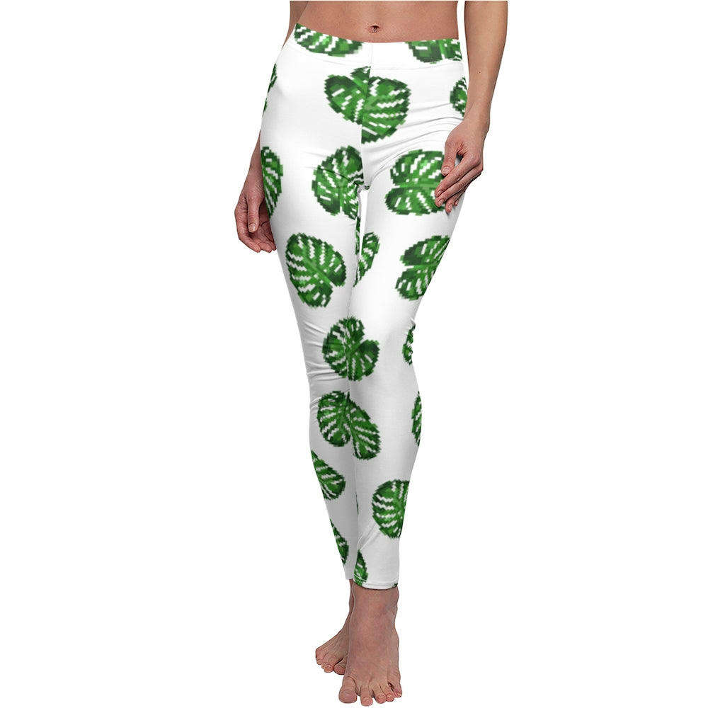 Monstera Casual Leggings