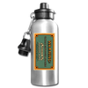 Dihydrogen Monoxide Water Bottle - silver