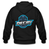 Decay Gaming Zip Hoodie - black
