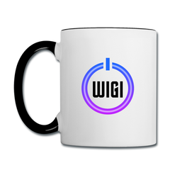 WIGI Coffee Mug - white/black