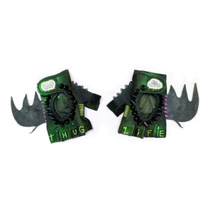 bat biker gloves