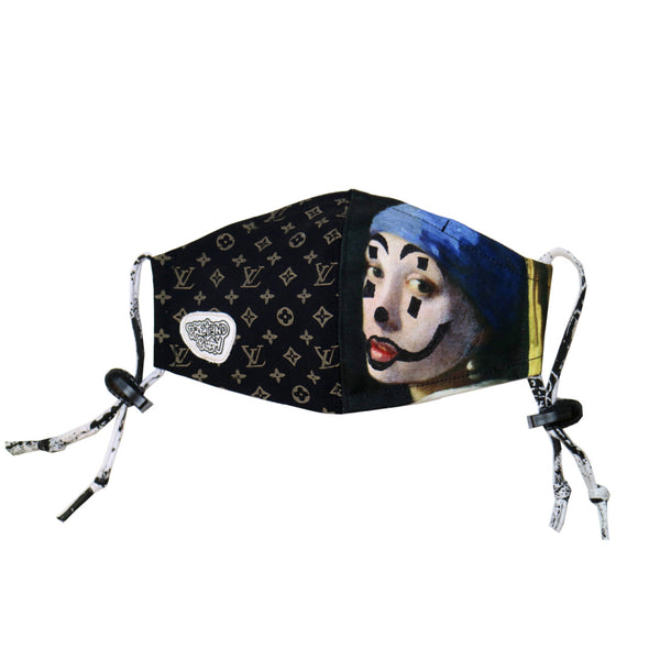 LV pearl family face mask